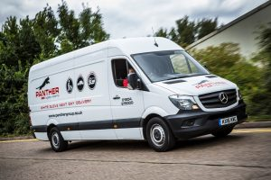 Huge growth in demand for Panther Warehousing's one-man delivery service prompts order for new fleet of Mercedes Sprinter vans